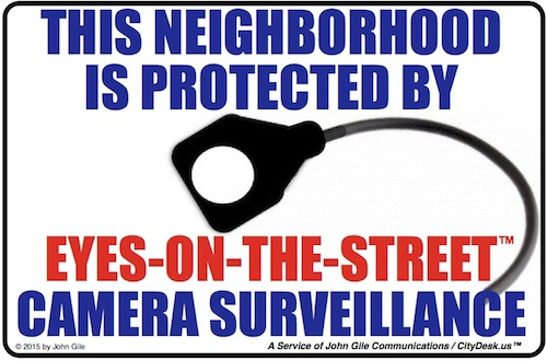 Neighborhood Safety Sign 2